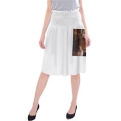 Airedale Terrier Midi Beach Skirt