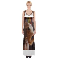 Airedale Terrier Maxi Thigh Split Dress