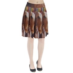 Airedale Terrier Pleated Skirt