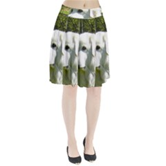 Great Pyrenees Pleated Skirt
