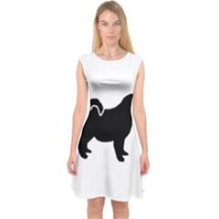 Pomsky Silo Capsleeve Midi Dress