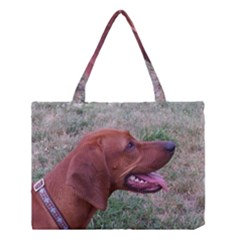 Redbone Coonhound Medium Tote Bag