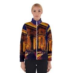 Paris Cityscapes Lights Multicolor France Winterwear