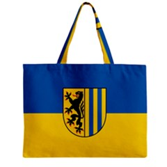 Flag Of Leipzig Zipper Mini Tote Bag
