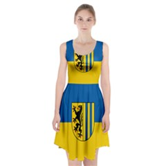 Flag of Leipzig Racerback Midi Dress
