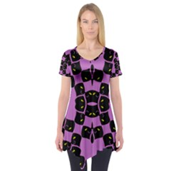 FLOWER OF LIFE Short Sleeve Tunic