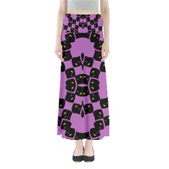 FLOWER OF LIFE Maxi Skirts