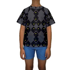Holistic Wine Kids  Short Sleeve Swimwear