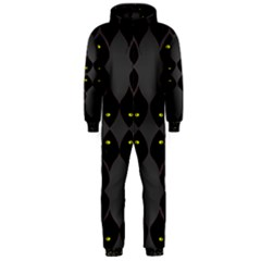 Holistic Wine Hooded Jumpsuit (Men)