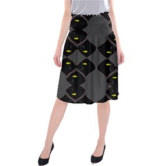 Holistic Wine Midi Beach Skirt