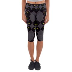 Holistic Wine Capri Yoga Leggings