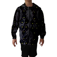 Holistic Wine Hooded Wind Breaker (Kids)