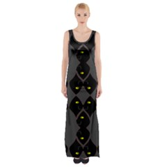 Holistic Wine Maxi Thigh Split Dress