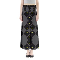 Holistic Wine Maxi Skirts