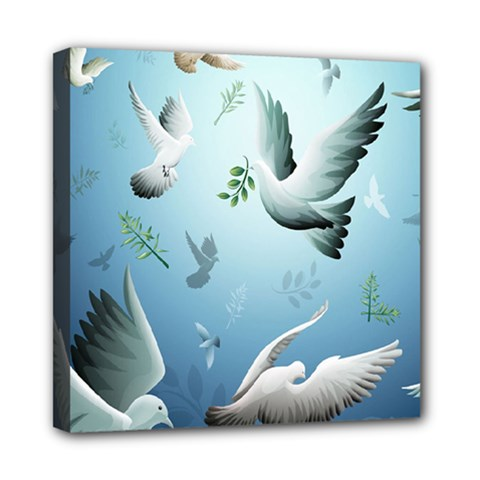 Animated Nature Wallpaper Animated Bird Mini Canvas 8  X 8