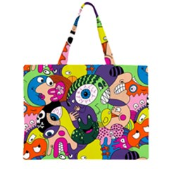 Another Weird Pattern Large Tote Bag
