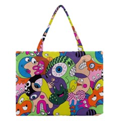 Another Weird Pattern Medium Tote Bag