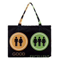 Bad Good Excellen Medium Tote Bag