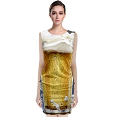 Beer 1 Classic Sleeveless Midi Dress
