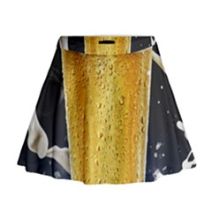 Beer 1 Mini Flare Skirt