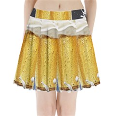 Beer 1 Pleated Mini Skirt
