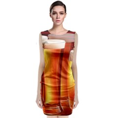 Beer Wallpaper Wide Classic Sleeveless Midi Dress