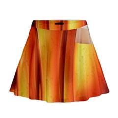 Beer Wallpaper Wide Mini Flare Skirt