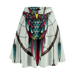 Bird High Waist Skirt