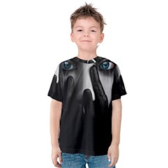 Black And White Kids  Cotton Tee