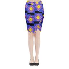 FREIND Midi Wrap Pencil Skirt
