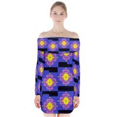 FREIND Long Sleeve Off Shoulder Dress