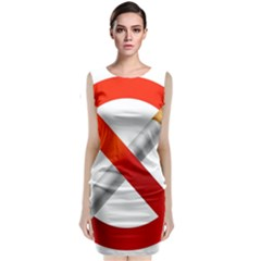 Cigarette Classic Sleeveless Midi Dress