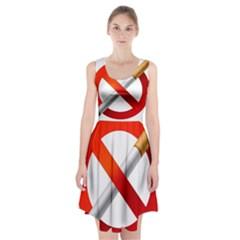 Cigarette Racerback Midi Dress