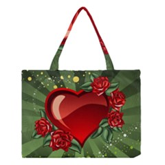 Cool Boy Wallpaper Medium Tote Bag