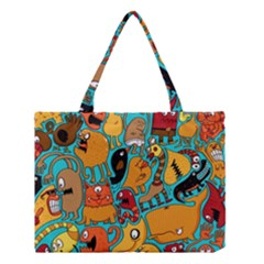 Creature Cluster Medium Tote Bag