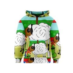 Urban sheep Kids  Pullover Hoodie
