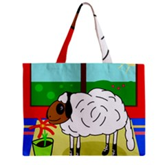 Urban sheep Zipper Mini Tote Bag