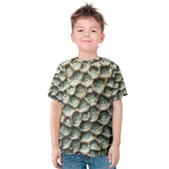 Ocean Pattern Kids  Cotton Tee