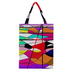 Abstract waves Classic Tote Bag