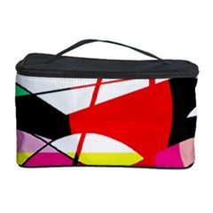 Abstract waves Cosmetic Storage Case