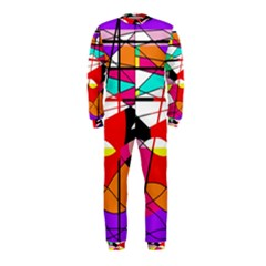 Abstract waves OnePiece Jumpsuit (Kids)