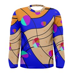 Decorative abstract art Men s Long Sleeve Tee