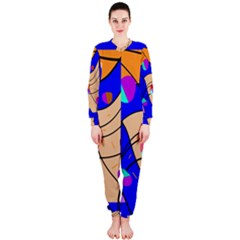 Decorative abstract art OnePiece Jumpsuit (Ladies)