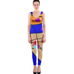 Decorative abstract art OnePiece Catsuit