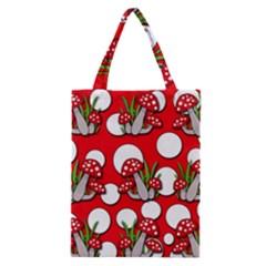 Mushrooms pattern Classic Tote Bag