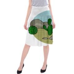 Desert Midi Beach Skirt