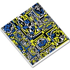 Blue and yellow decor Small Memo Pads