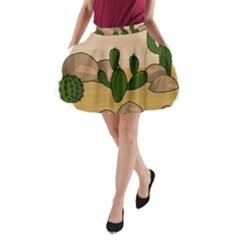 Desert 2 A-Line Pocket Skirt