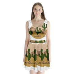Desert 2 Split Back Mini Dress