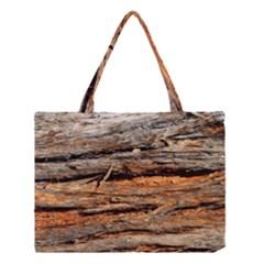 Natural Wood Texture Medium Tote Bag